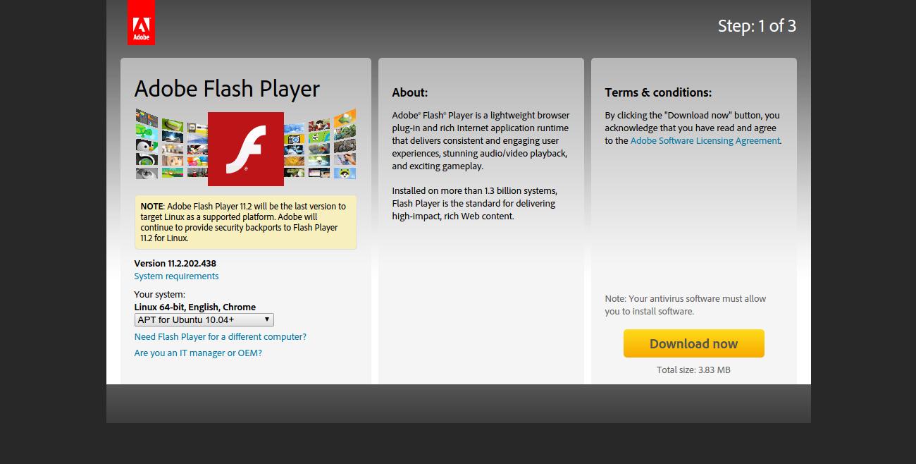 Flash приложение скачать